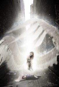 """Angel of the Children"" composite Art"
